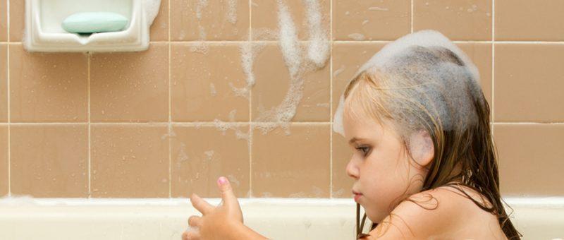 ילד מקלחת- מאמר תמונה