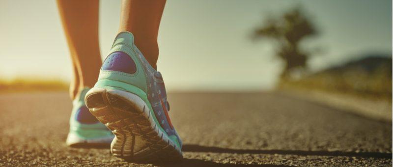 ריצה או הליכה תמונה מאמר